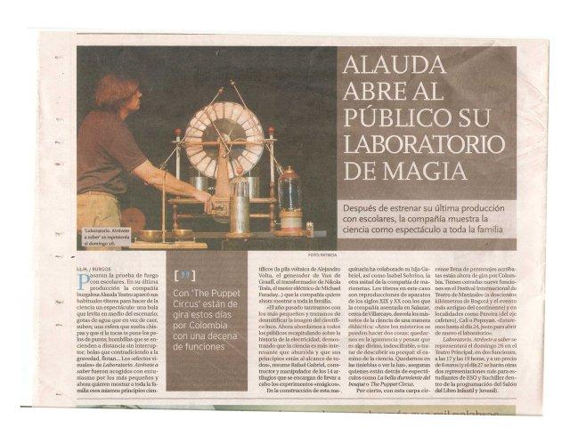 Diario Burgos octubre 2014