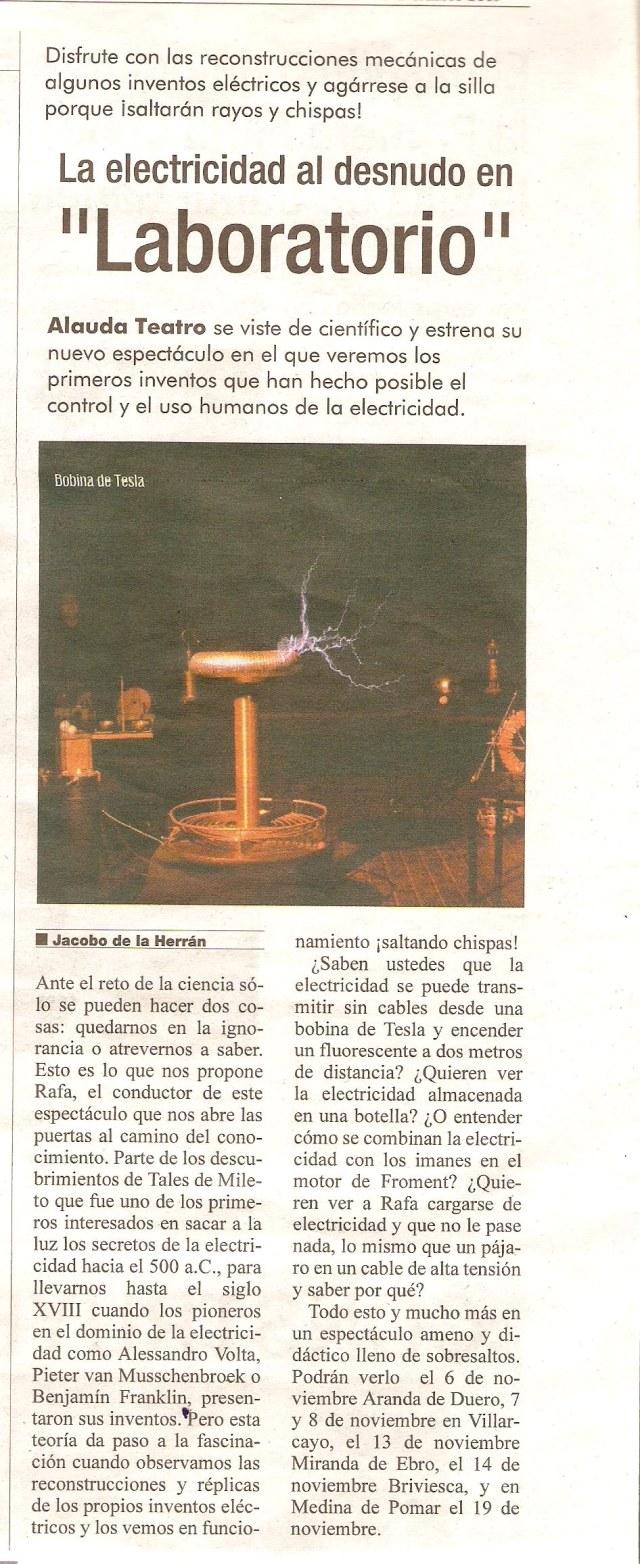 Laboratorio Cronicas Noviembre 2013
