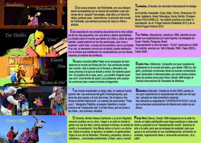 Triptico 2 Festival Merindades 2014